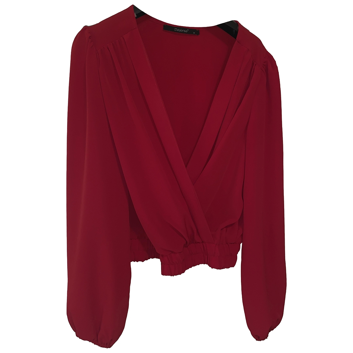 Non Signé / Unsigned \N Red  top for Women M International