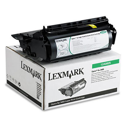 Lexmark 12A0825 cartouche de toner du programme retour originale noire