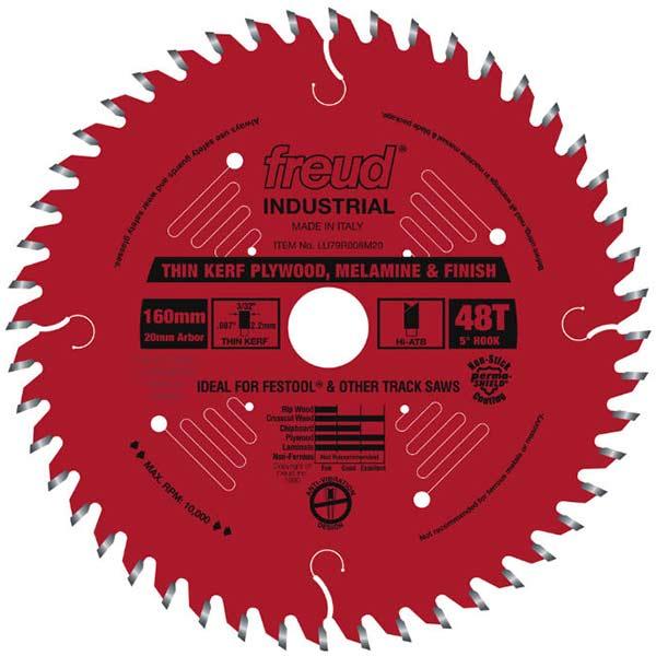 Thin Kerf Ultimate Plywood & Melamine Track Saw Blade