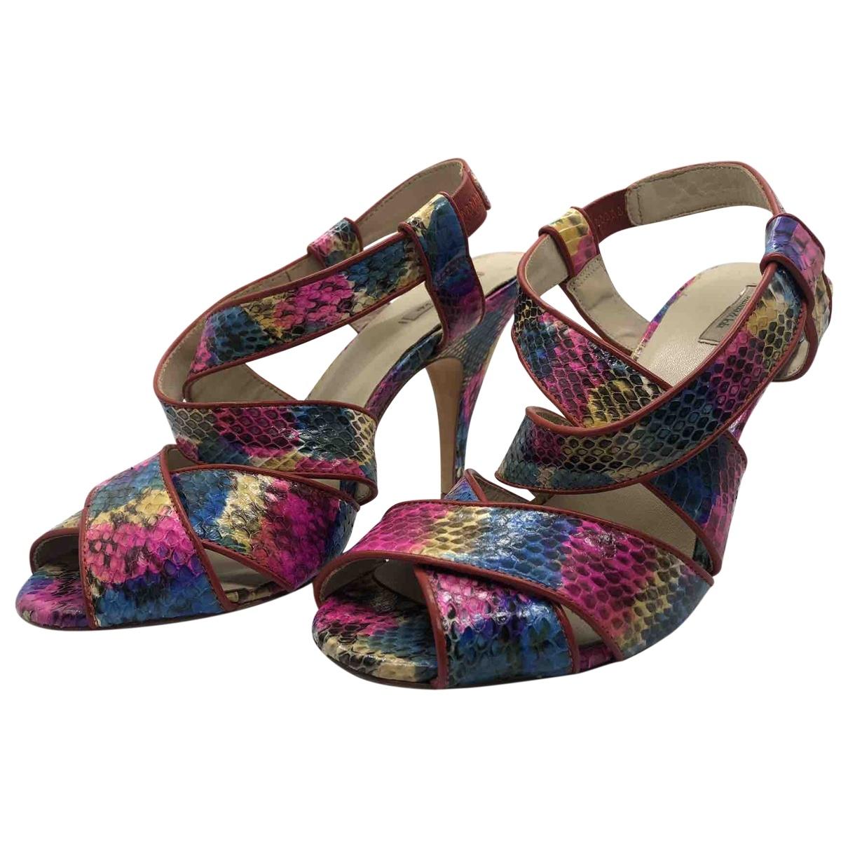 Bimba Y Lola - Escarpins   pour femme en cuir - multicolore