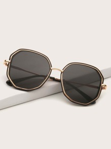 Polygon Frame Sunglasses
