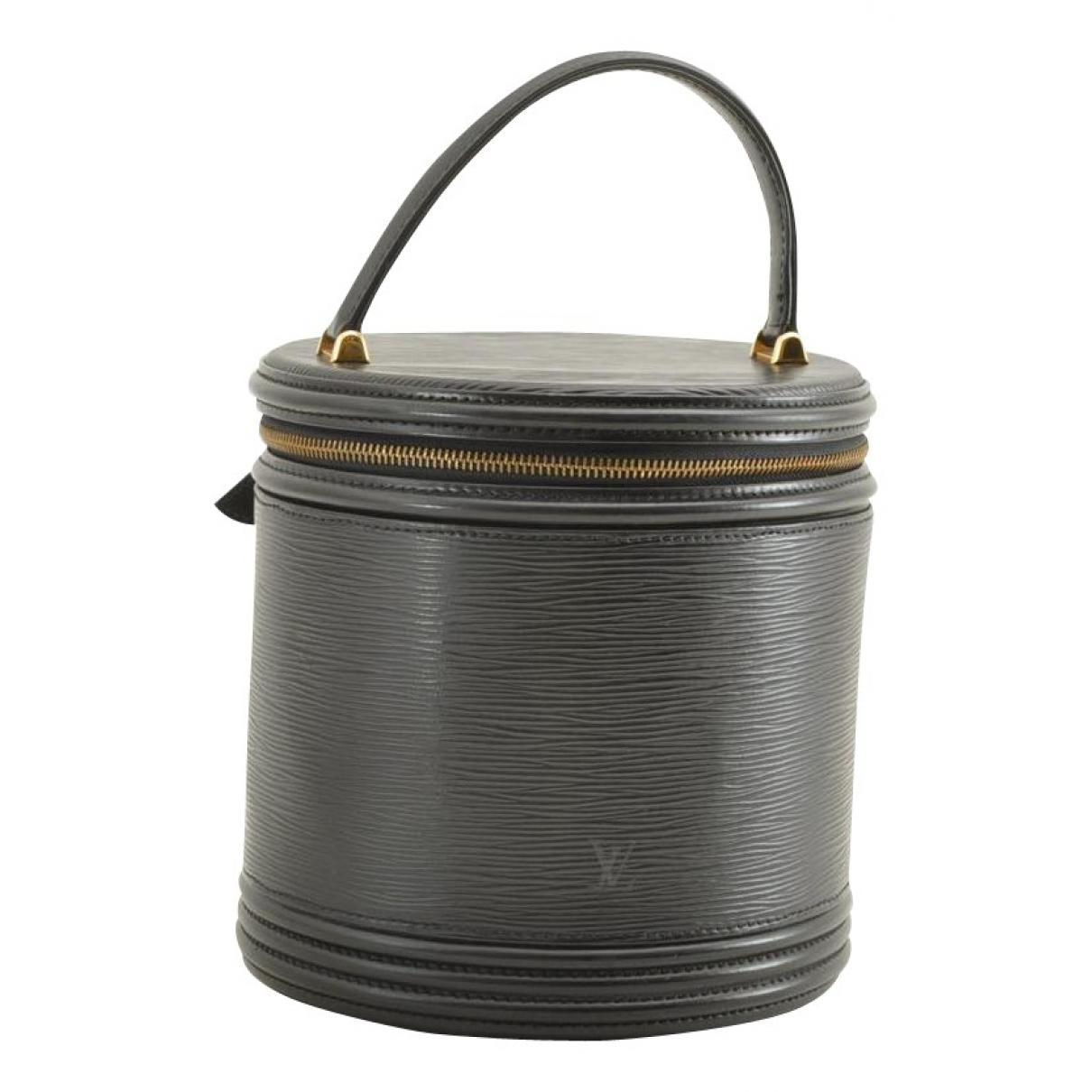 Louis Vuitton Cannes Black Patent leather handbag for Women N