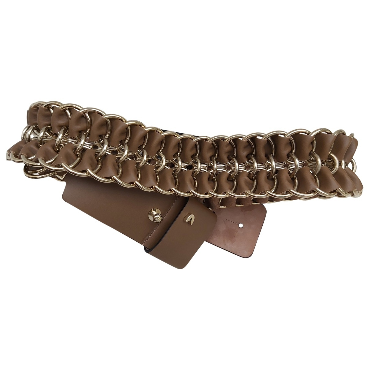Gianfranco Ferré \N Beige Leather belt for Women 90 cm