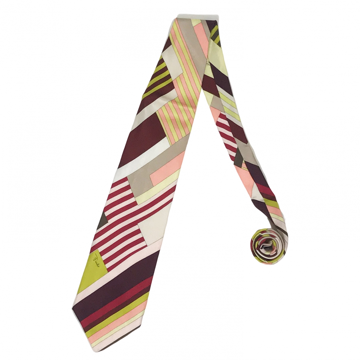 Emilio Pucci \N Krawatten in  Bunt Seide