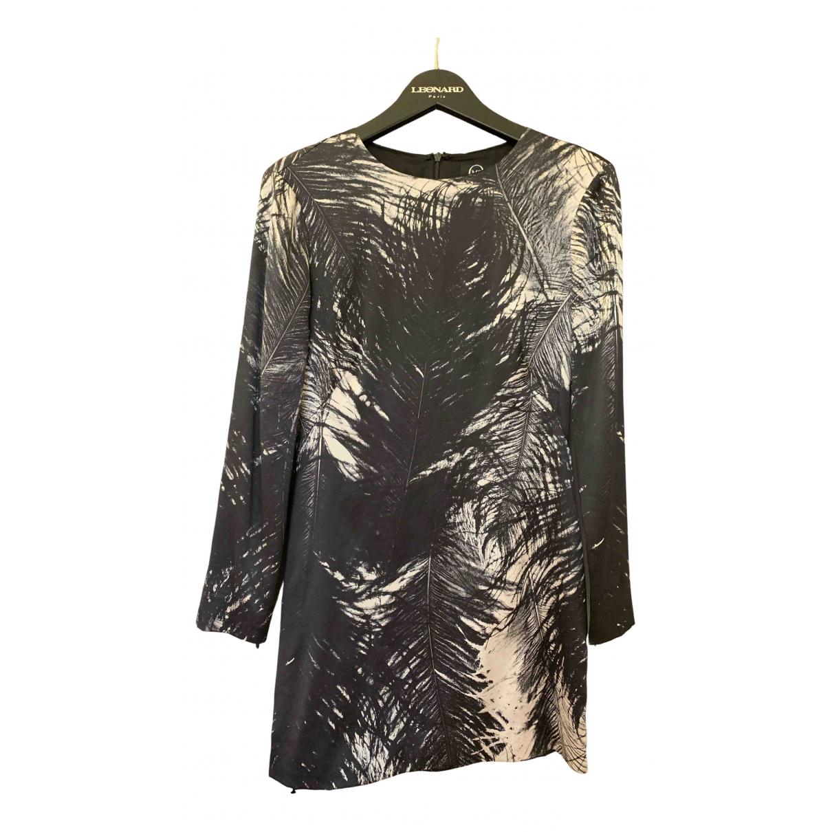 Mcq - Robe   pour femme en soie - noir