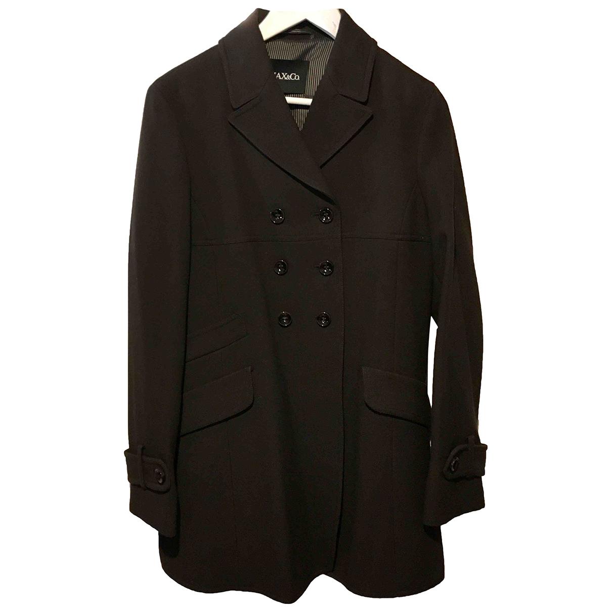 Max & Co - Manteau   pour femme en laine - marron