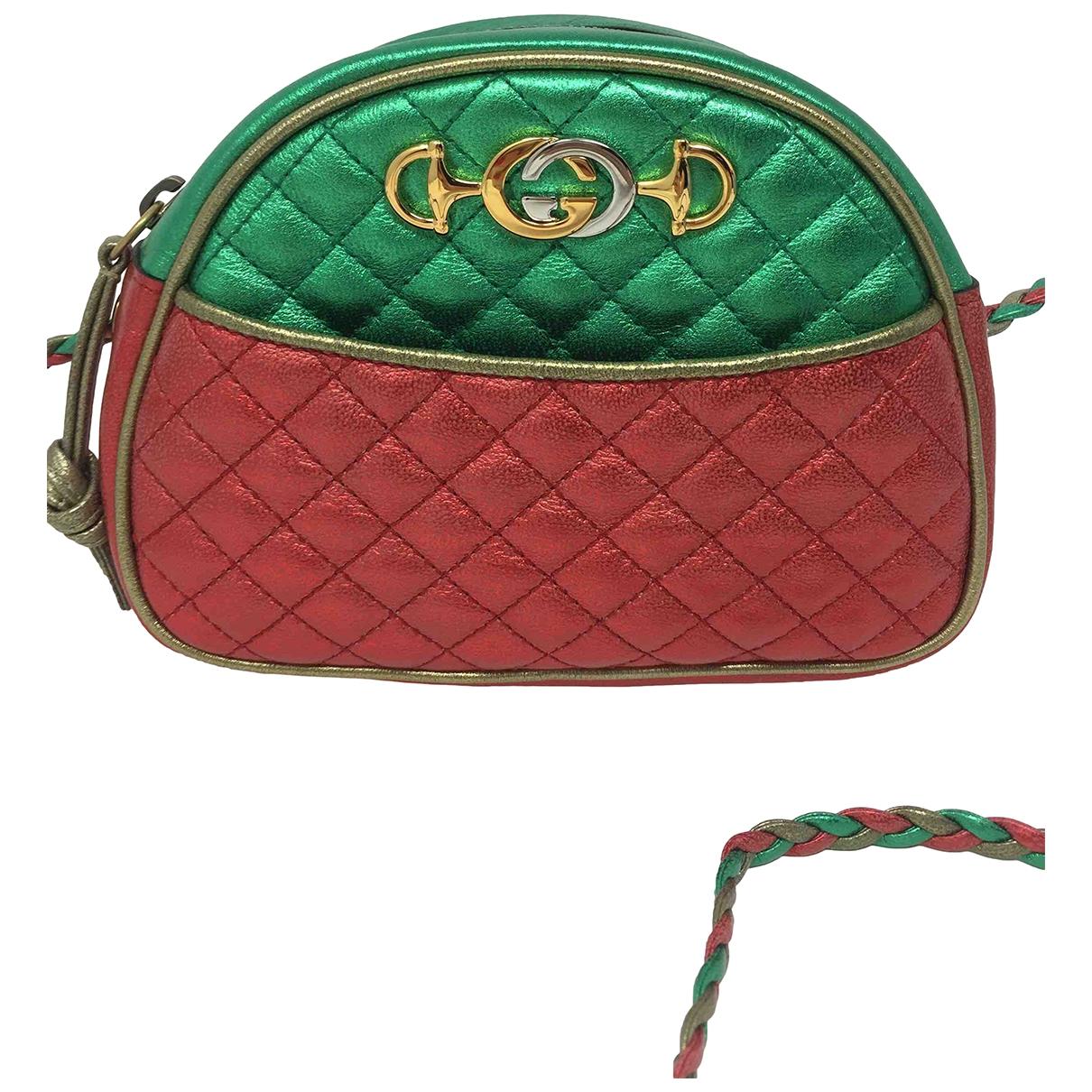 Gucci \N Clutch in  Bunt Leder