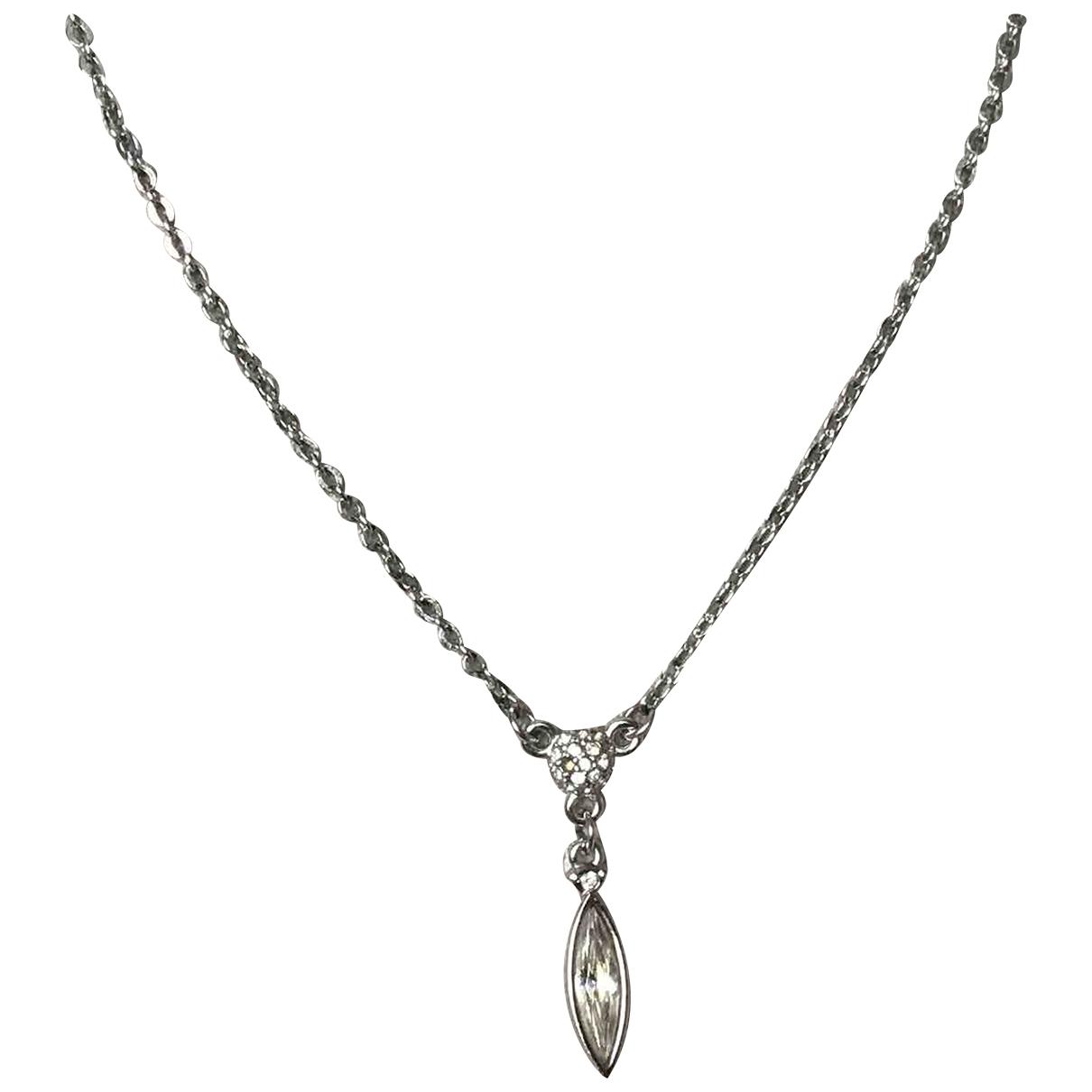 Swarovski - Collier   pour femme en acier - argente