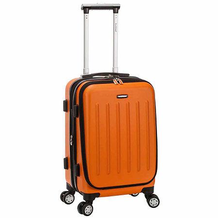 Titan Hardside 19 Inch Spinner Carry On Luggage, One Size , Orange