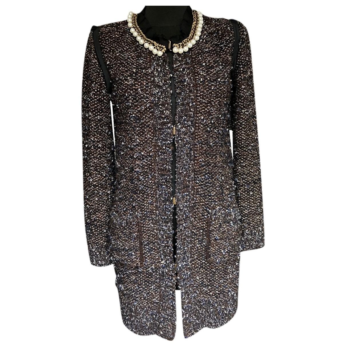 Lanvin - Pull   pour femme en laine - metallise