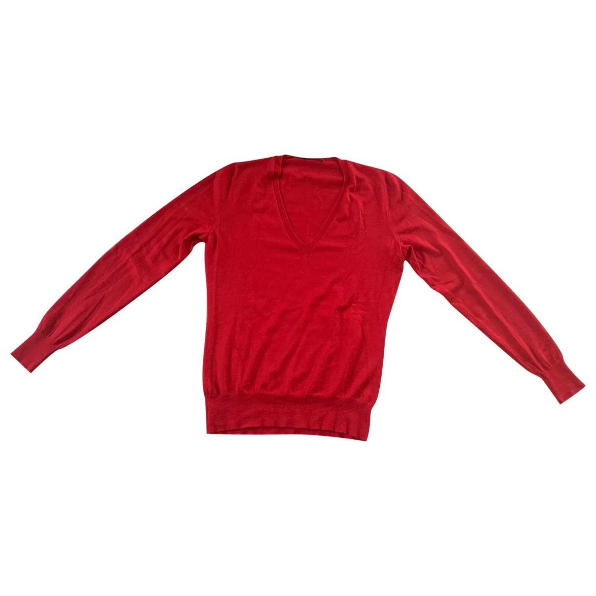 Alexander Mcqueen \N Red Cashmere Knitwear for Women 40 FR