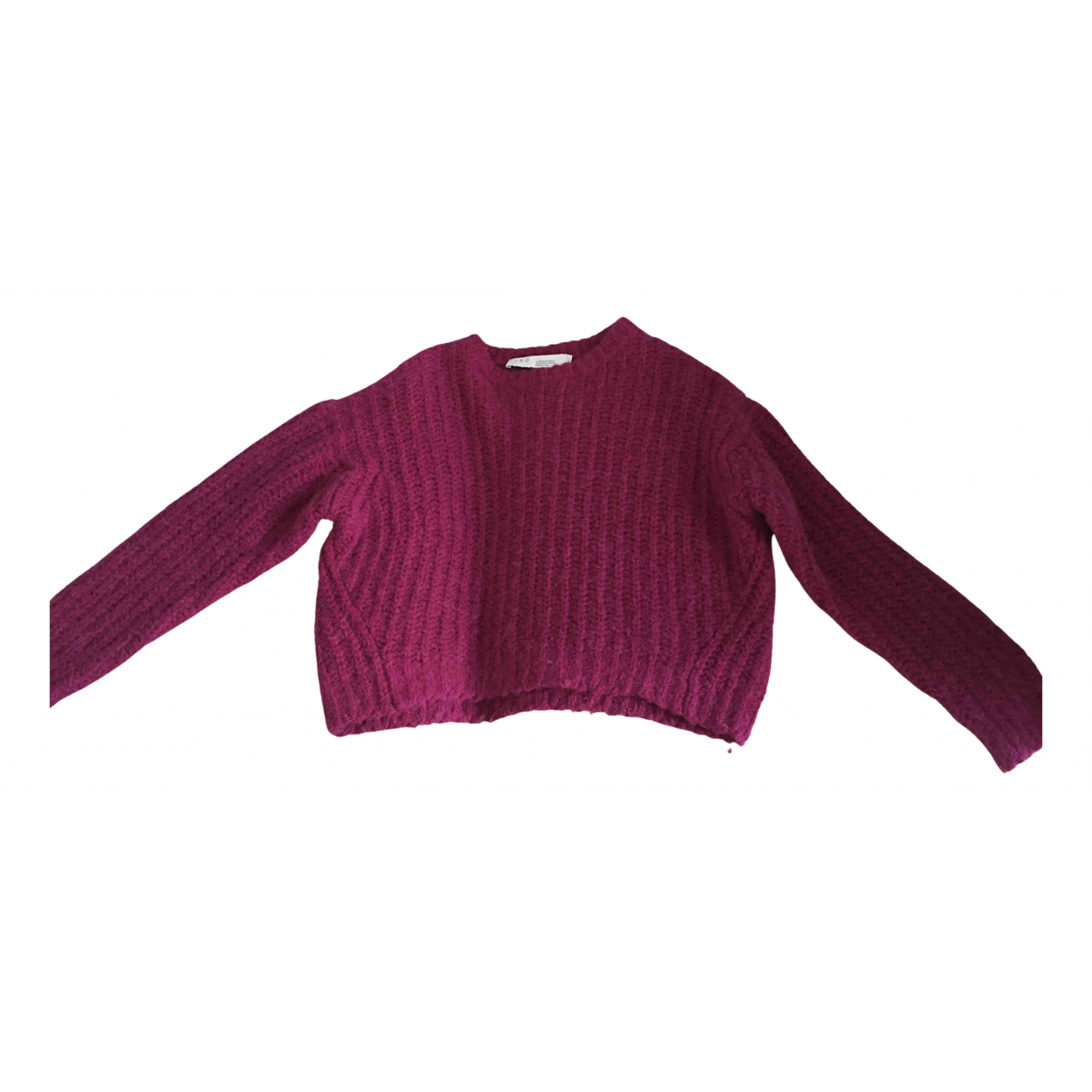 Iro \N Pullover in  Lila Wolle