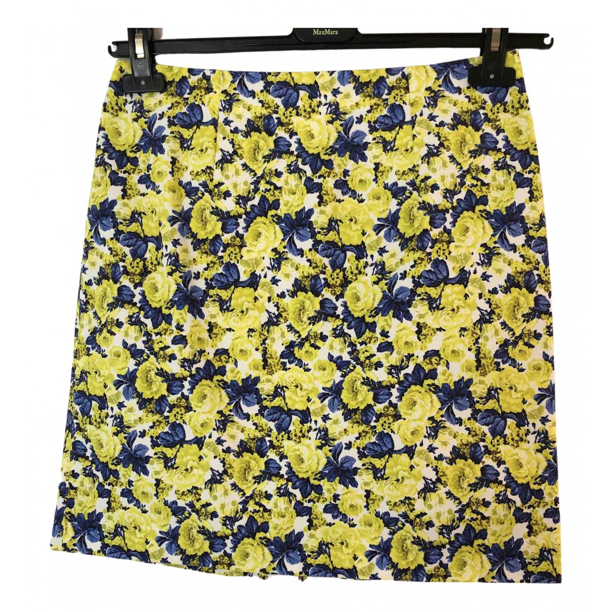 Sport Max - Jupe   pour femme en coton - jaune