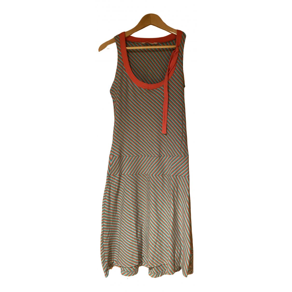 Mango N Multicolour Cotton - elasthane dress for Women M International