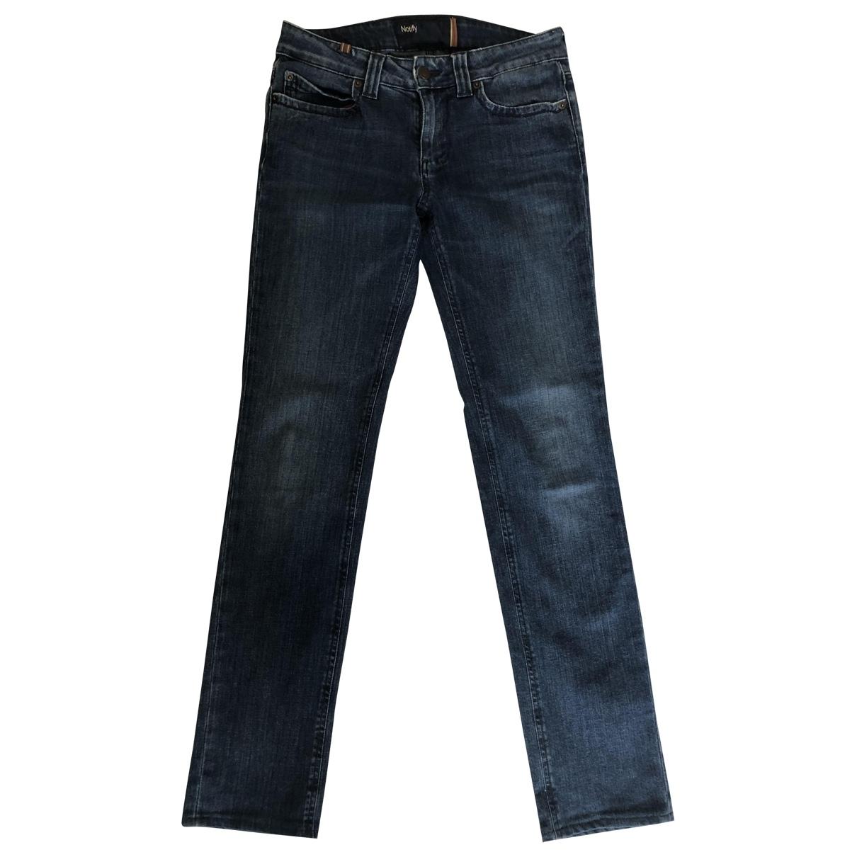 Notify \N Blue Denim - Jeans Jeans for Women 28 US