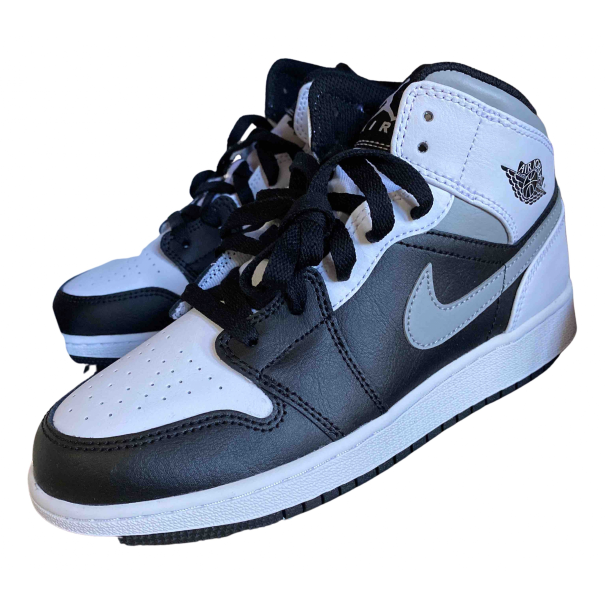 Jordan Air Jordan 1  Sneakers in  Weiss Leder