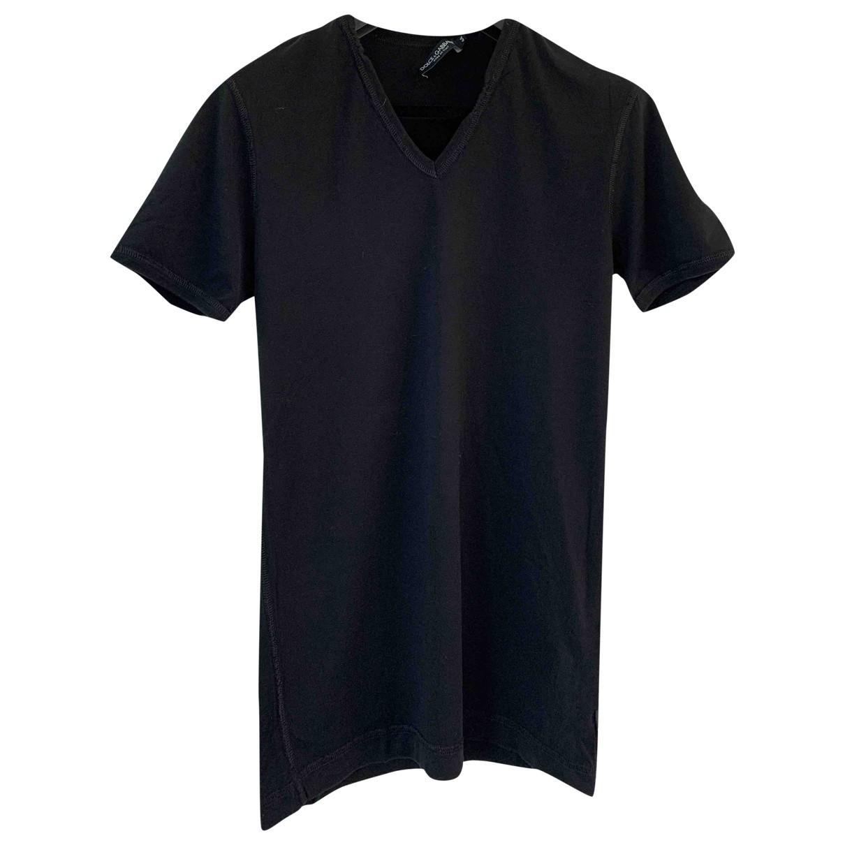 Dolce & Gabbana \N T-Shirts in  Schwarz Baumwolle