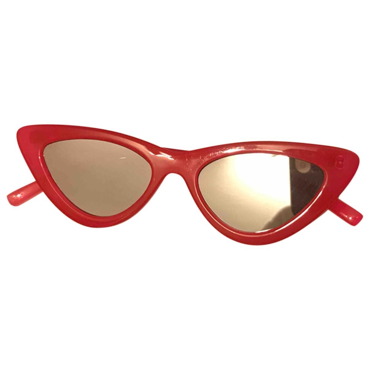 Le Specs - Lunettes   pour femme - rouge
