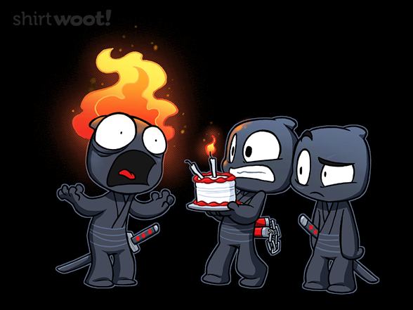 Unninja: Birthday T Shirt