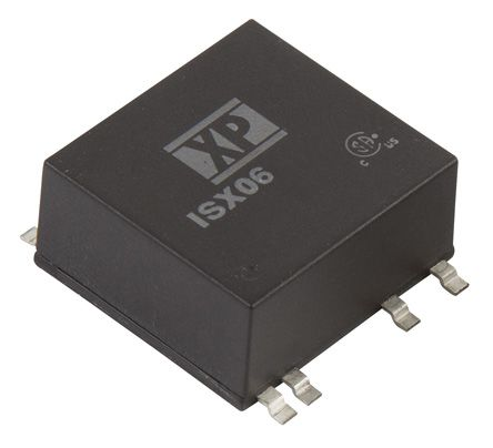 XP Power ISX06 6W Isolated DC-DC Converter Surface Mount, Voltage in 9 → 36 V dc, Voltage out 5V dc