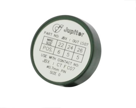 Souriau Locator socket for contact 0.7 mm