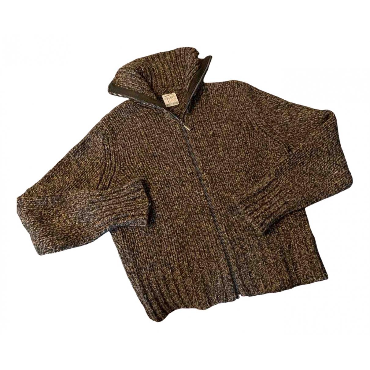 - Pull   pour femme en laine - camel