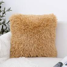 Faux Fur Cushion Cover Without Filler