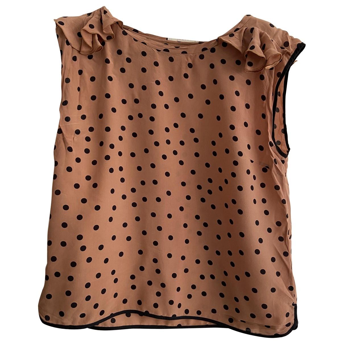 Jucca \N Pink Silk  top for Women 44 IT