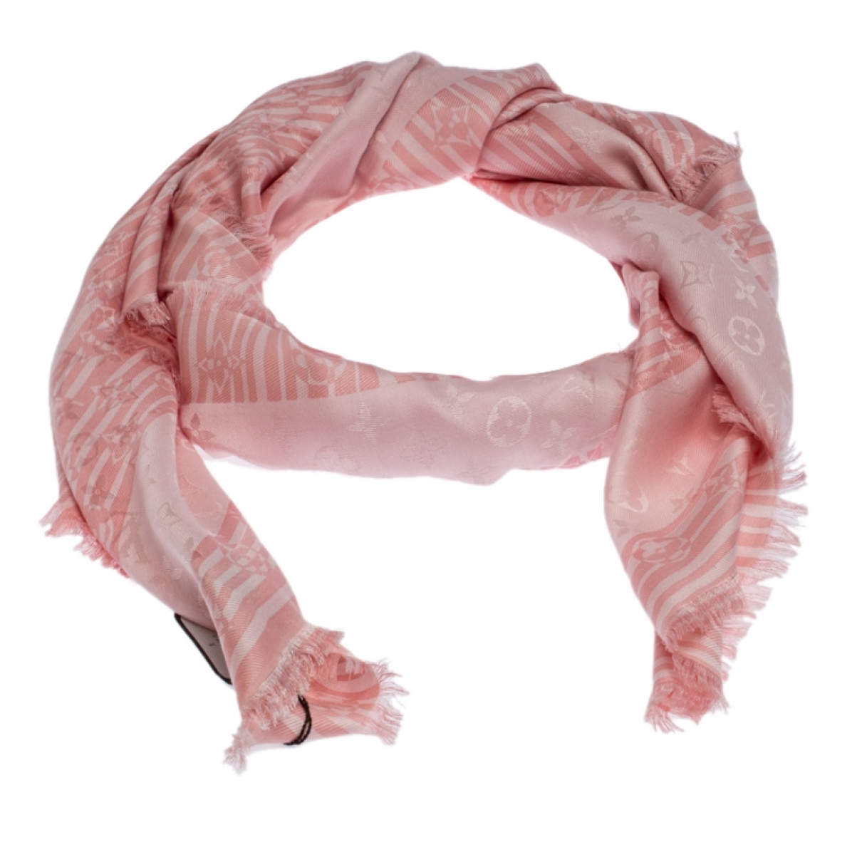 Louis Vuitton \N Pink Silk Silk handkerchief for Women \N