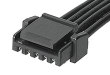 Molex Micro-Lock PLUS OTS 45111 Series Number Wire to Board Cable Assembly 1 Row, 5 Way 1 Row 5 Way, 50mm (500)