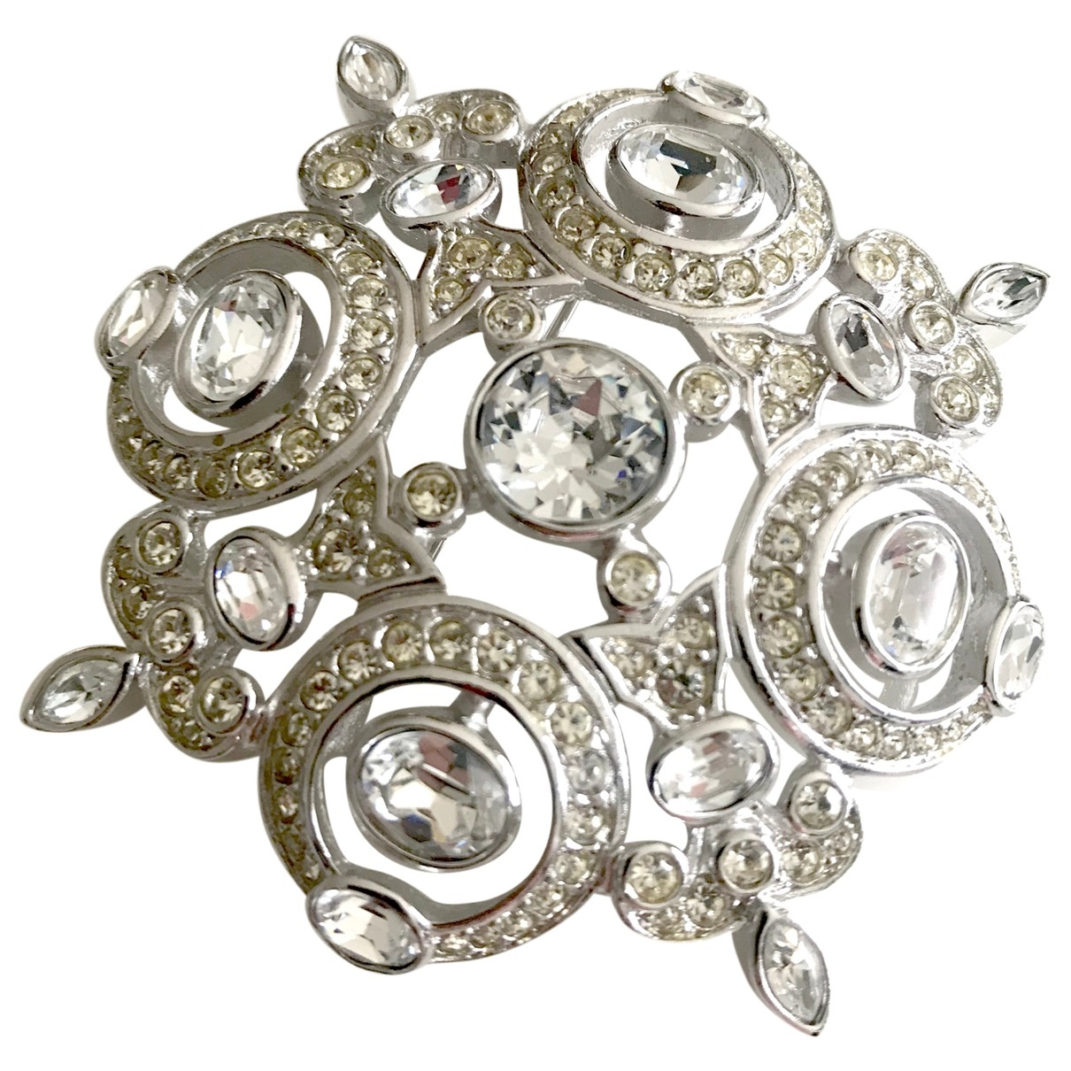 Dior \N Silver Metal Pins & brooches for Women \N