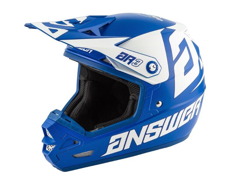 Answer 444357 AR3 Bold Helmet Reflex White LG