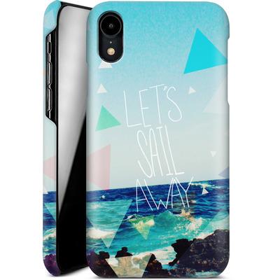 Apple iPhone XR Smartphone Huelle - Lets Sail Away von Leah Flores