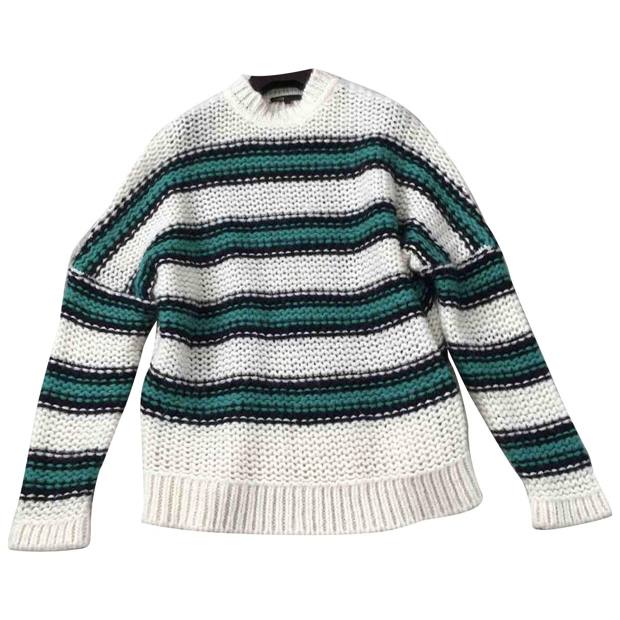 Maje - Pull Fall Winter 2019 pour femme en laine - vert