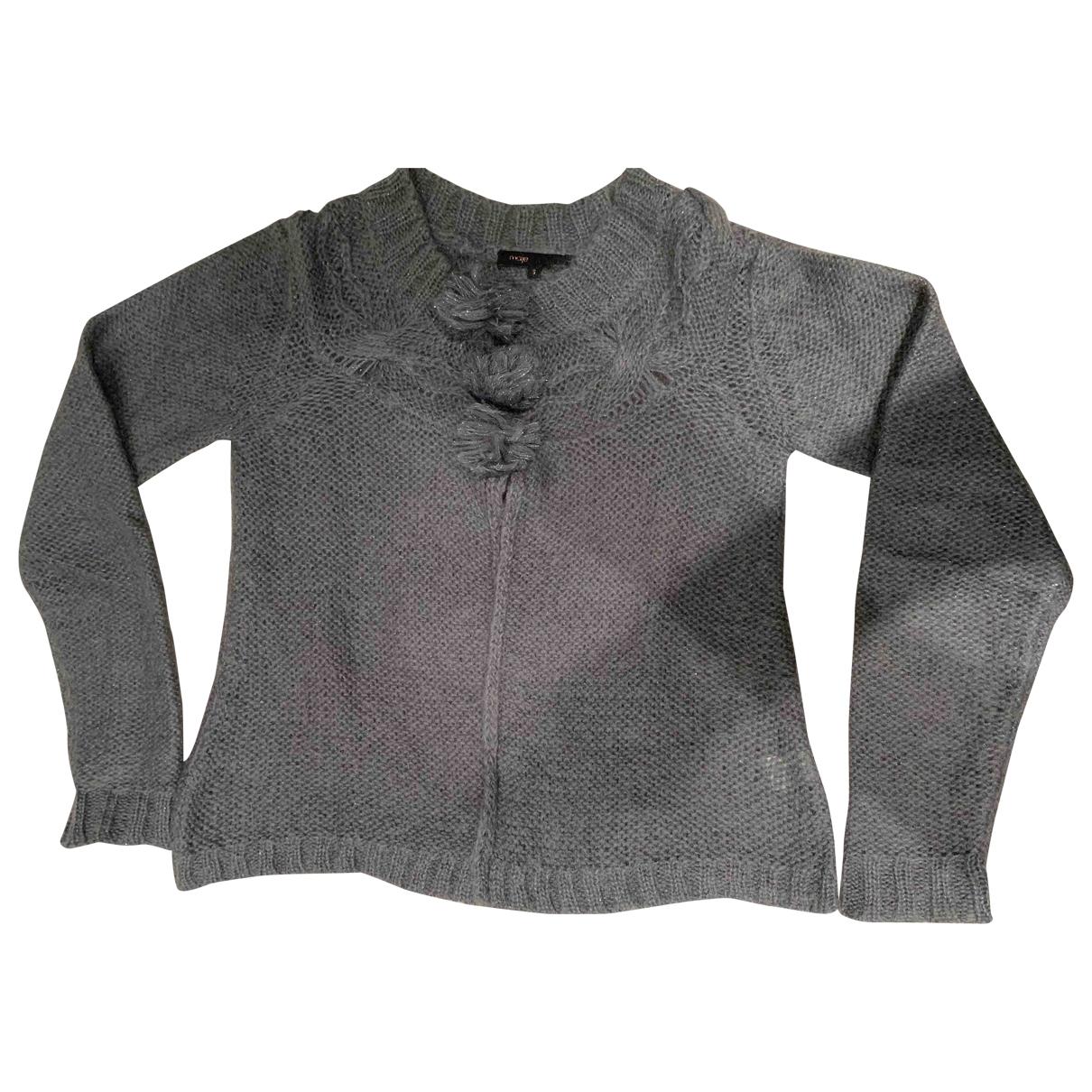 Maje \N Pullover in  Grau Kaschmir