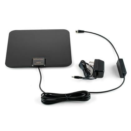 Antenne pour TVHD intérieure super mince avec amplificateur - PrimeCables®