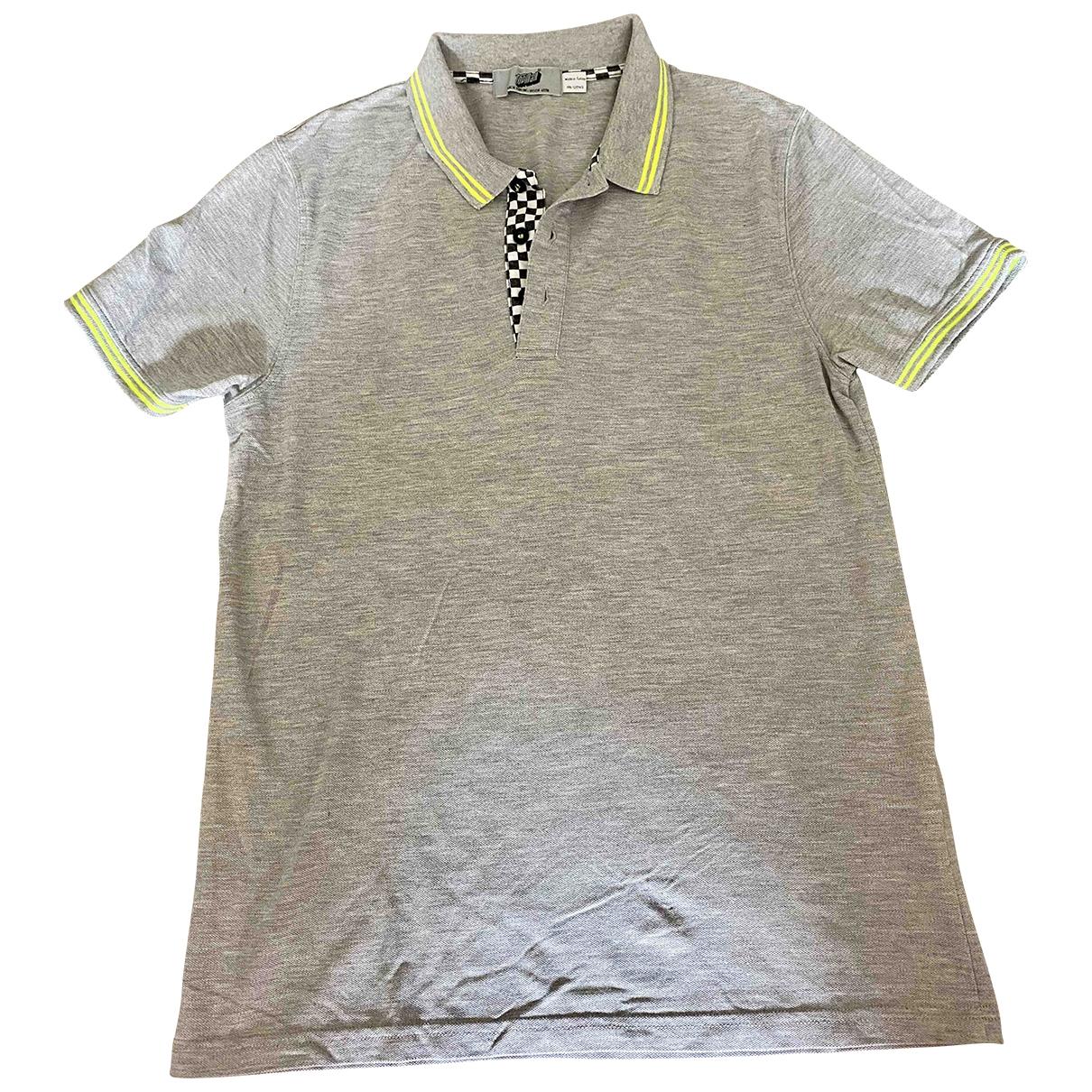 Topman \N Poloshirts in  Grau Baumwolle