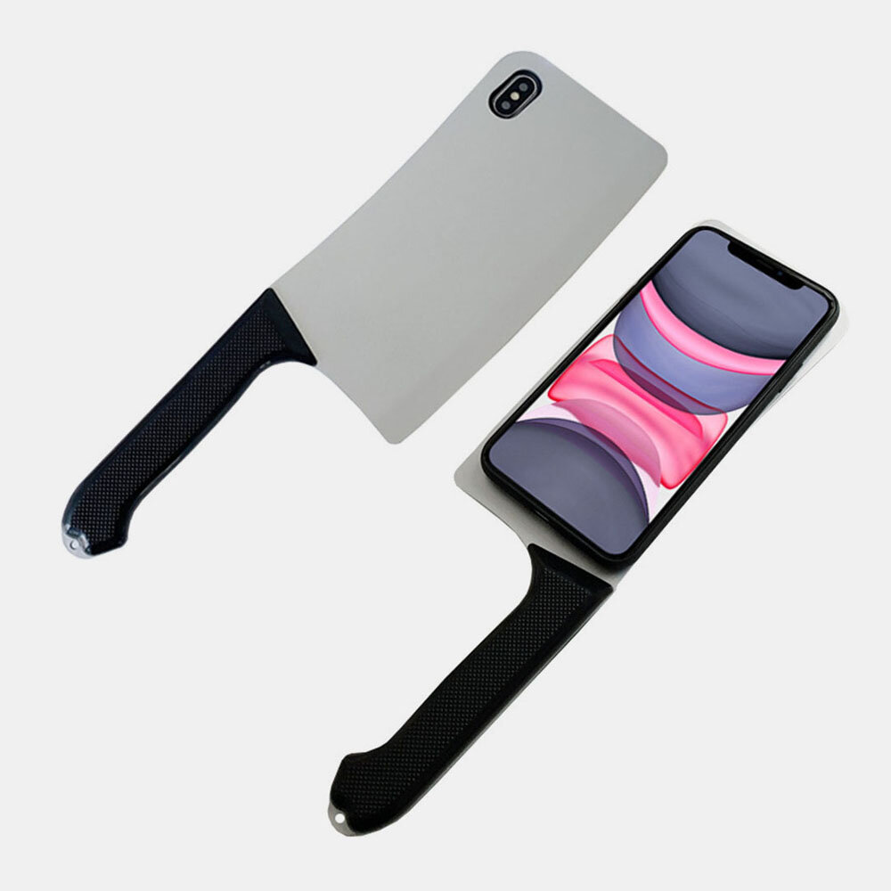Women&Men Funny Chopper Phone Anti-drop Soft Case