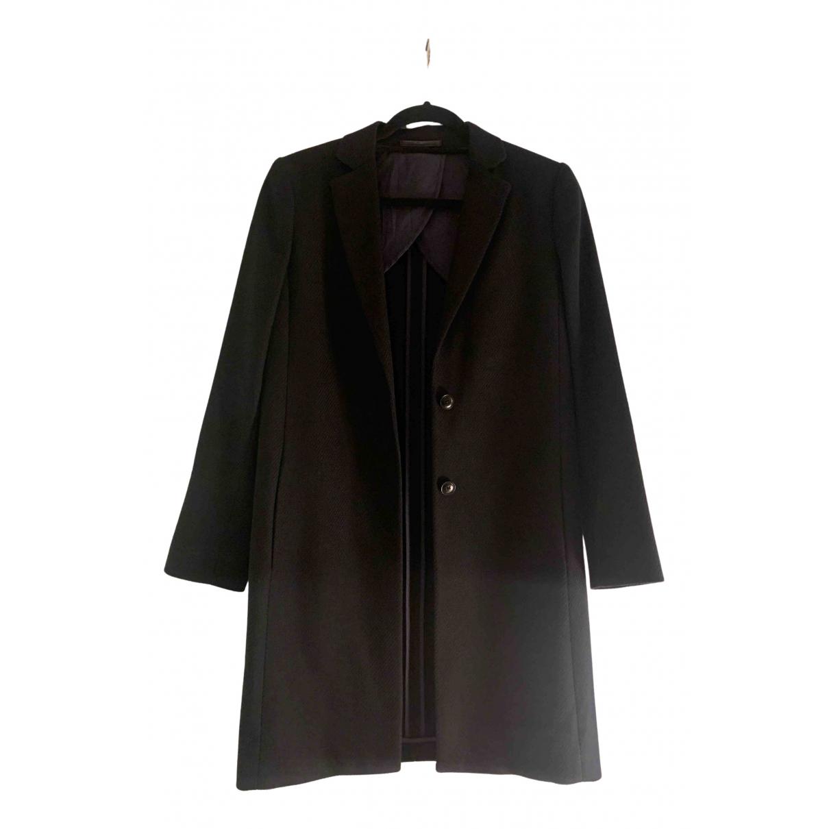 Gant - Manteau   pour femme en coton - noir