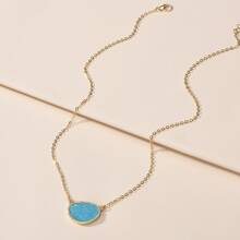 Stone Decor Necklace