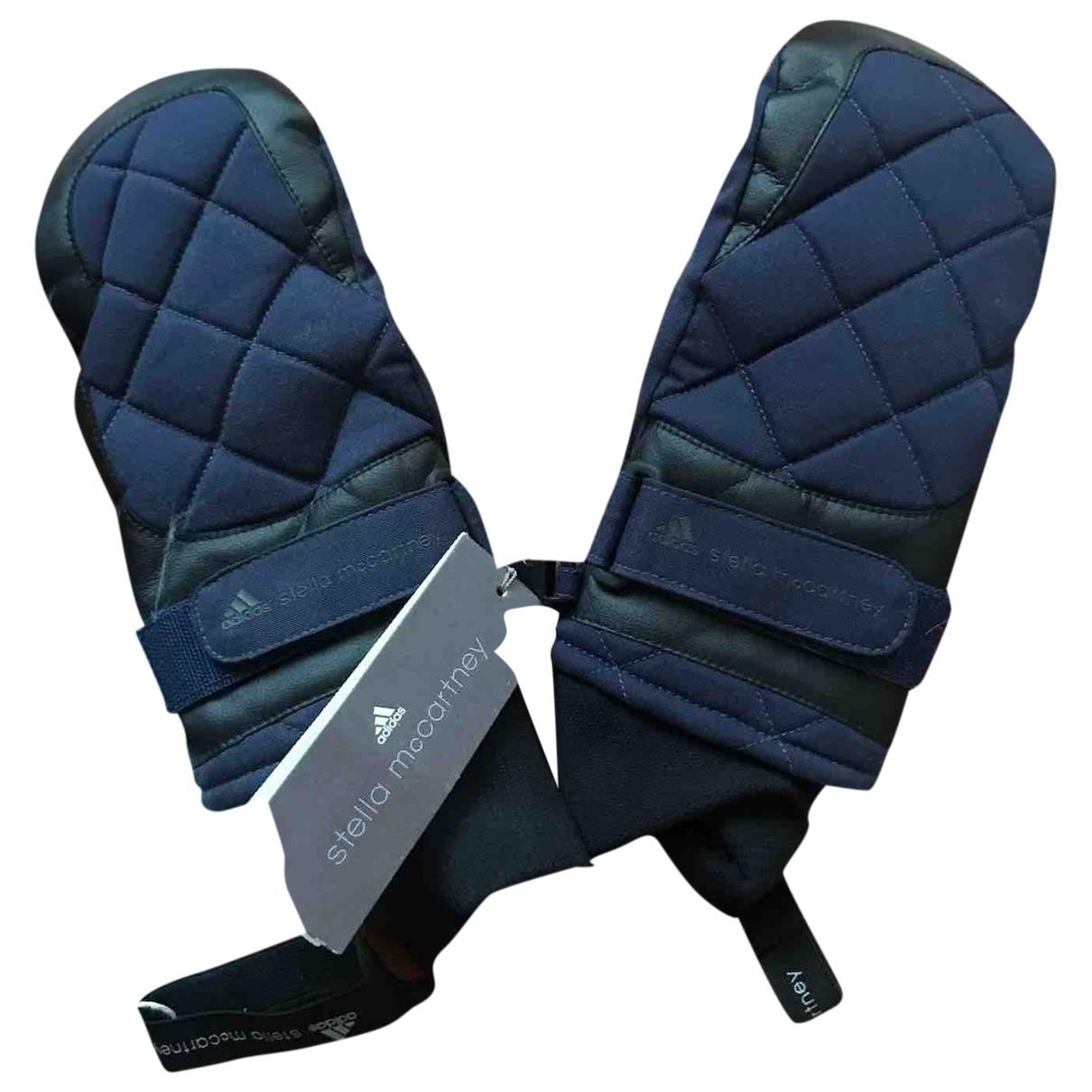 Stella Mccartney Pour Adidas \N Handschuhe in  Blau Synthetik
