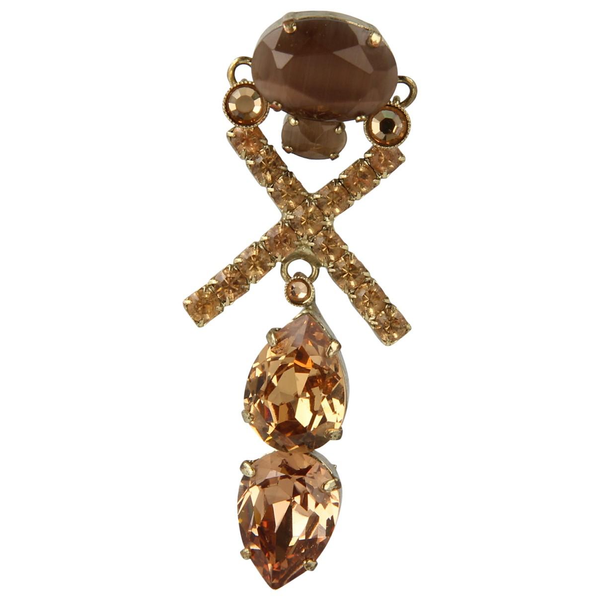 Rodrigo Otazu \N Gold Gold plated Earrings for Women \N