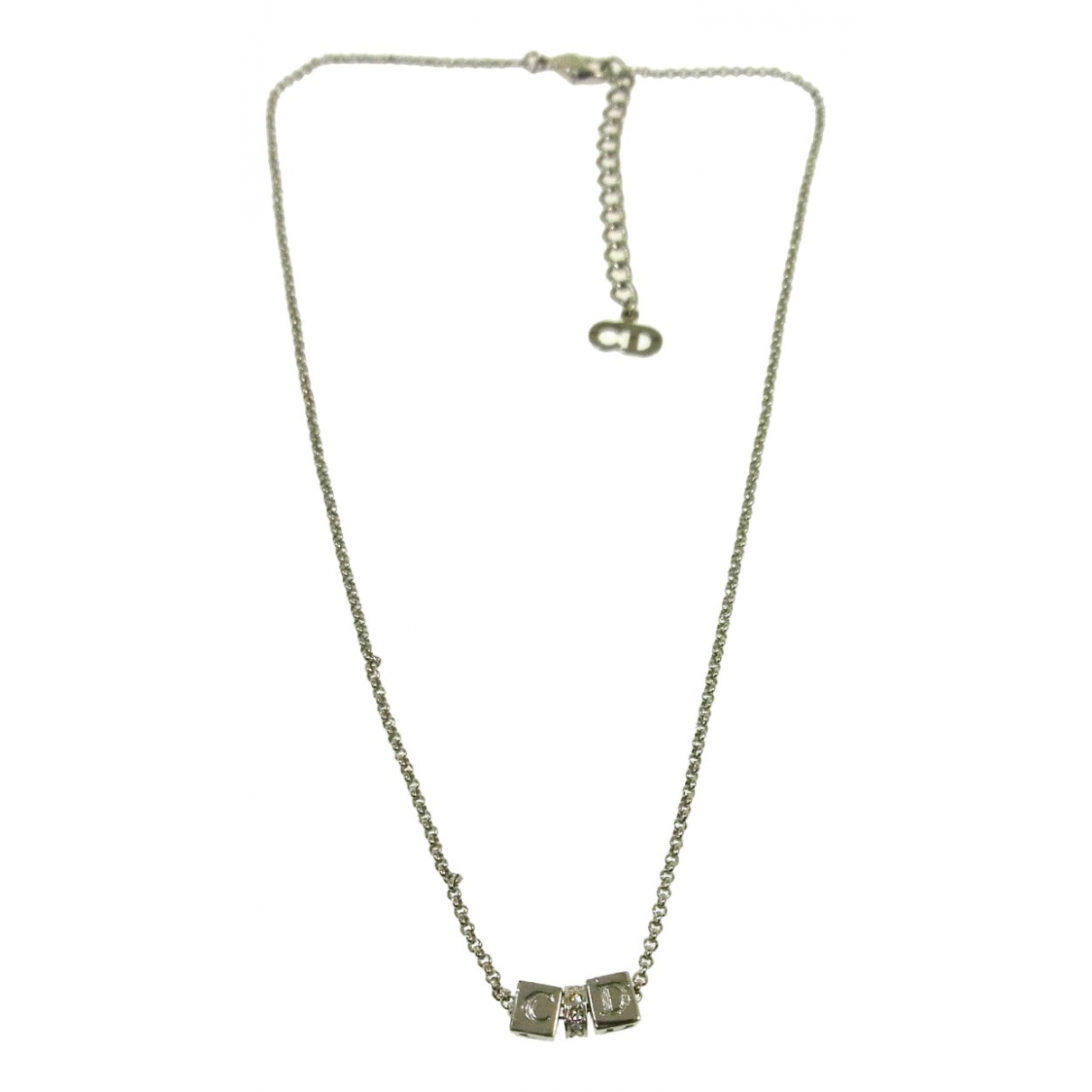 Dior \N Silver Plated necklace for Women \N