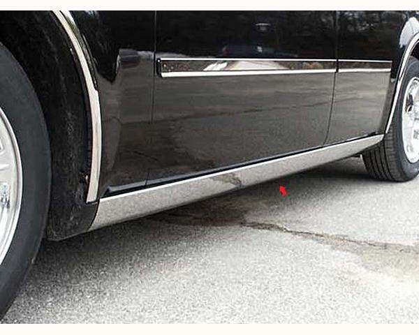 Quality Automotive Accessories 4-Piece Rocker Panel Accent Trim Kit Chrysler 300   300C 2010