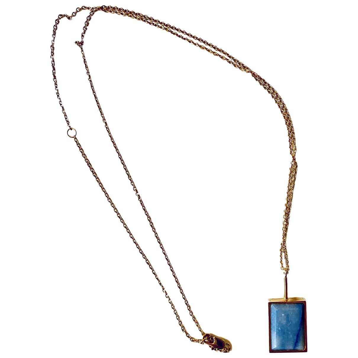 Celine \N Blue Crystal Long necklace for Women \N