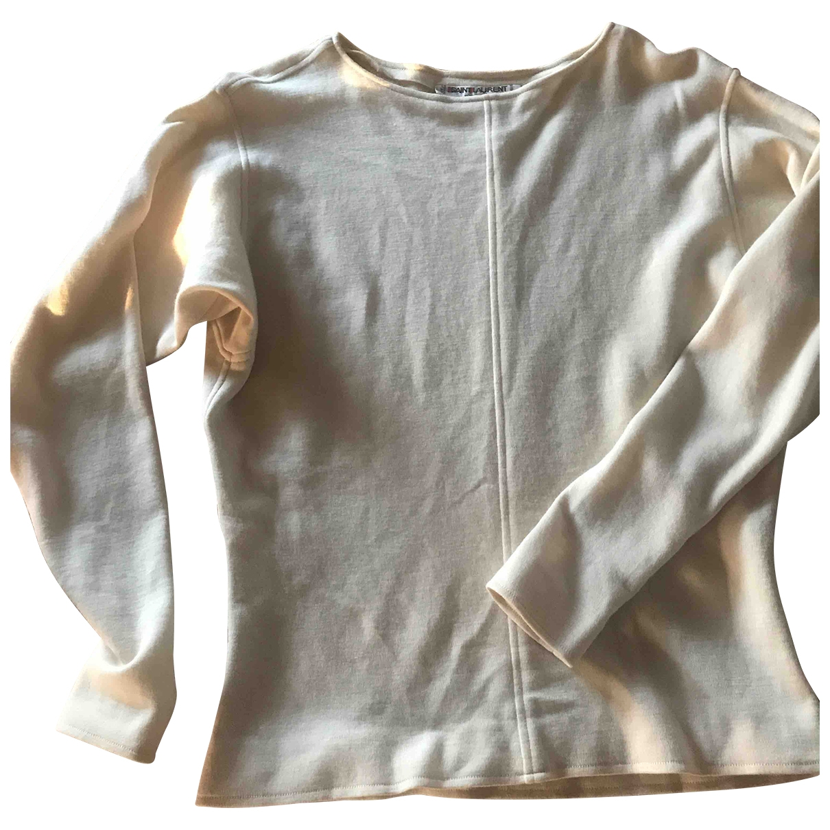 Yves Saint Laurent \N Beige Wool Knitwear for Women 40 FR