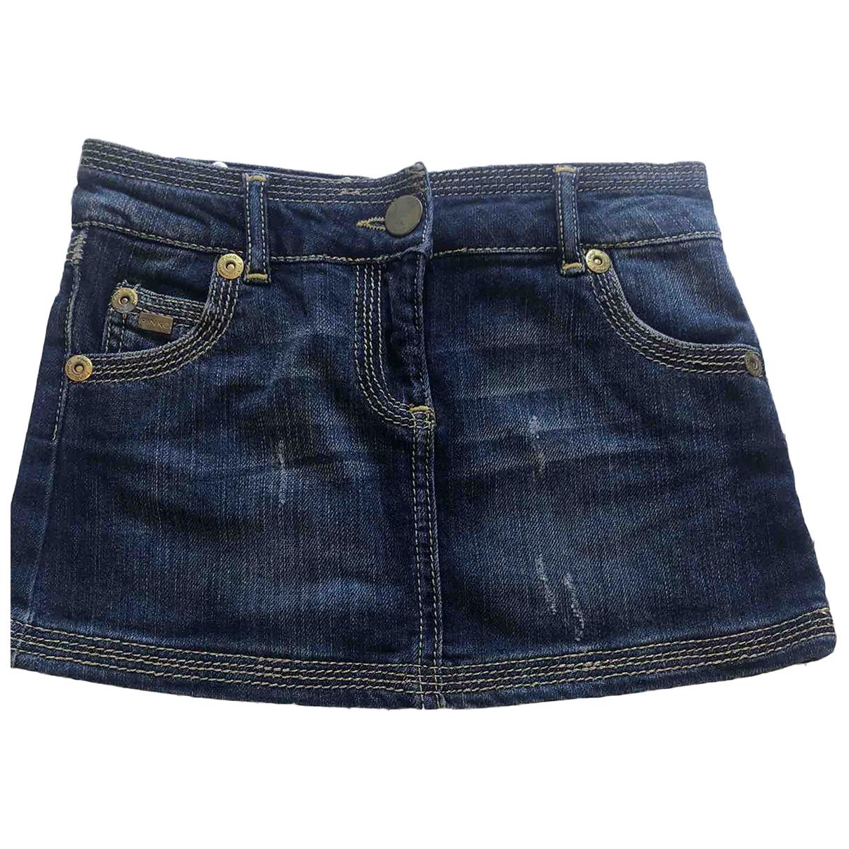 Pinko \N Blue Denim - Jeans skirt for Kids 8 years - up to 128cm FR