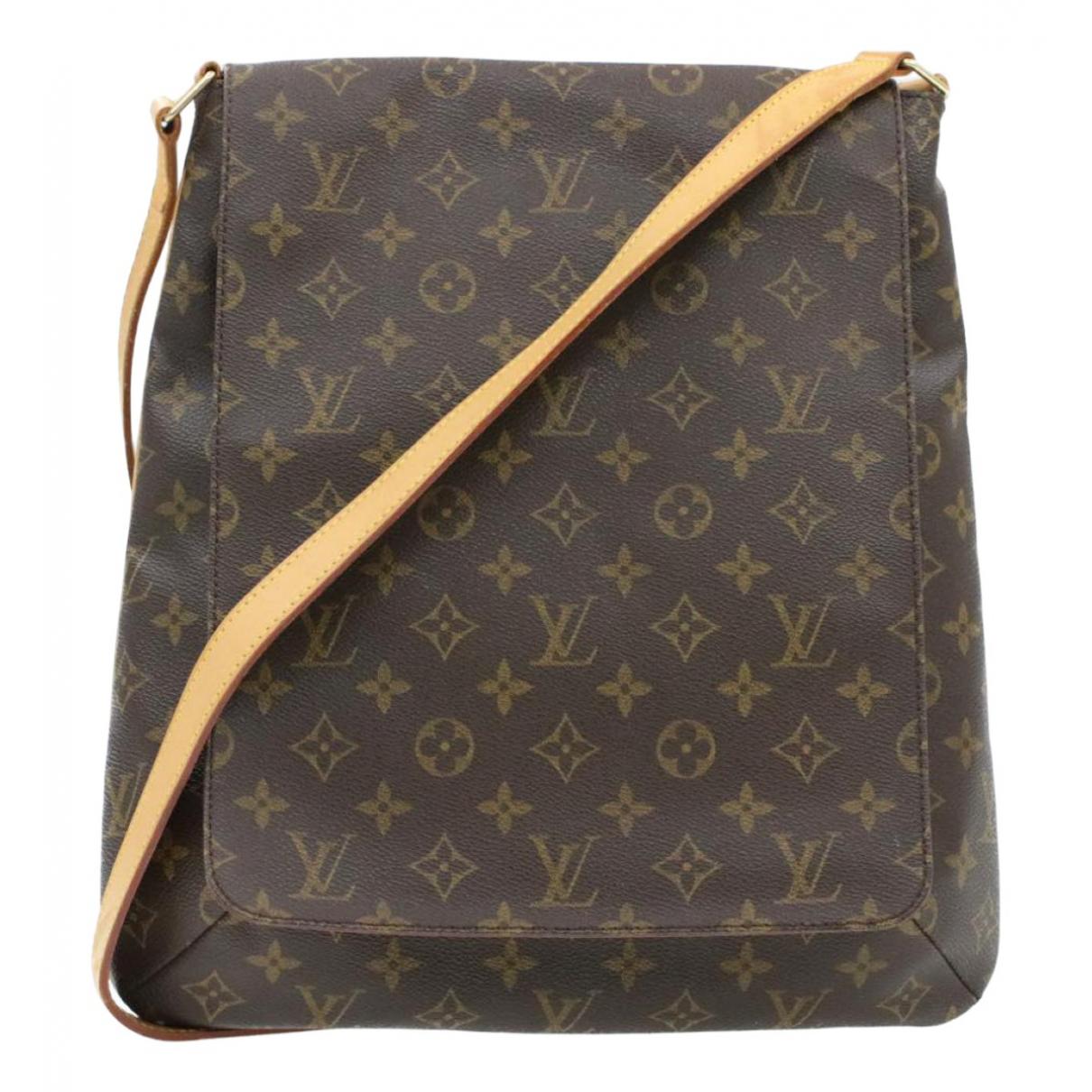 Louis Vuitton Musette Brown Cloth handbag for Women \N