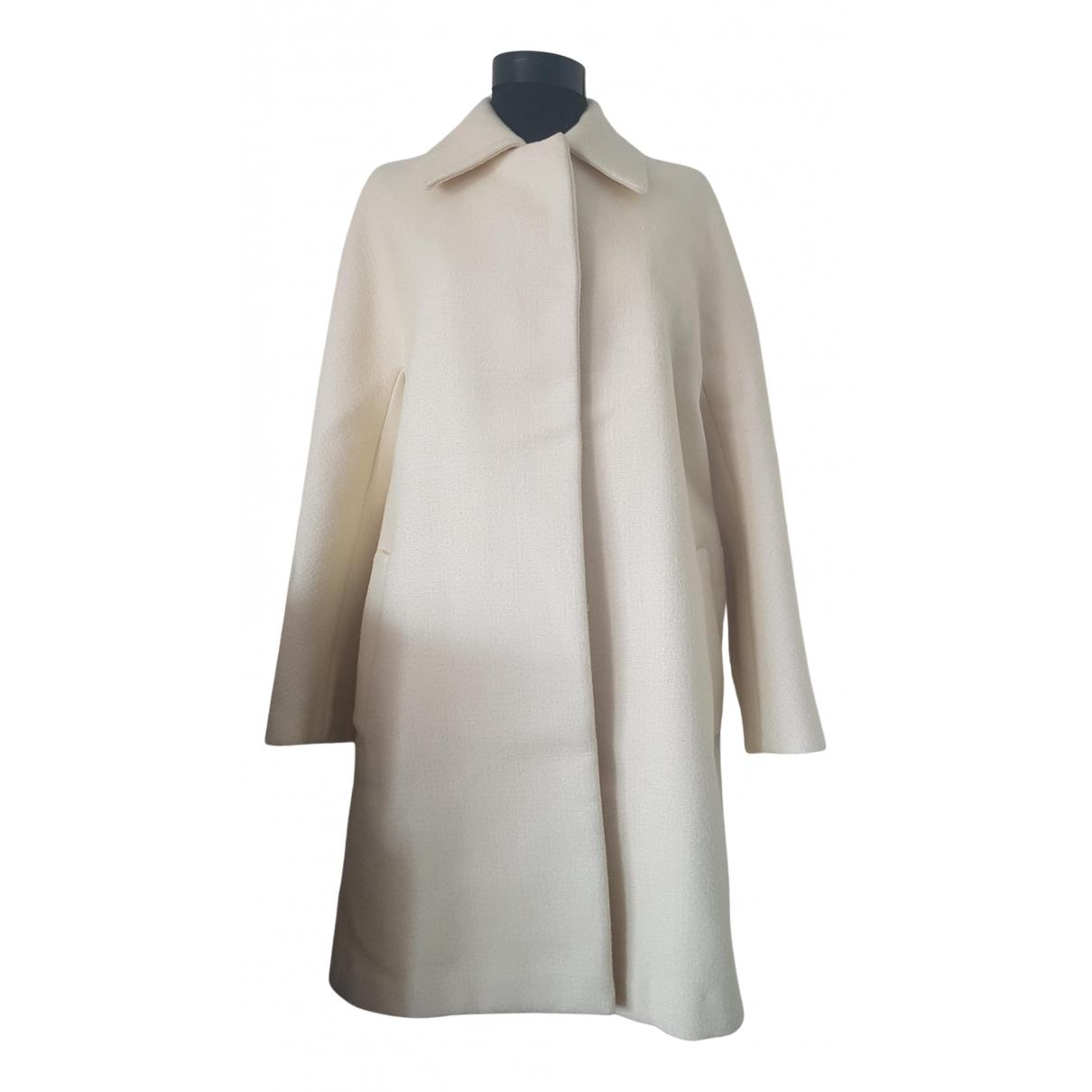 Sport Max - Manteau   pour femme en laine - jaune