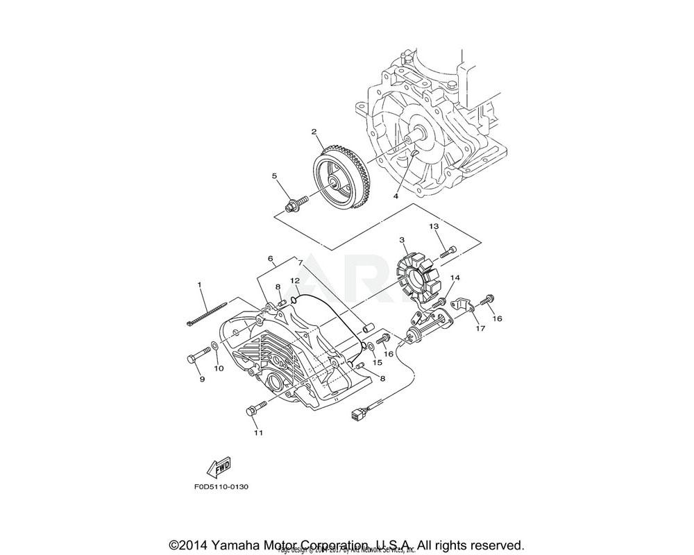 Yamaha OEM 66V-81328-00-00 CLAMP